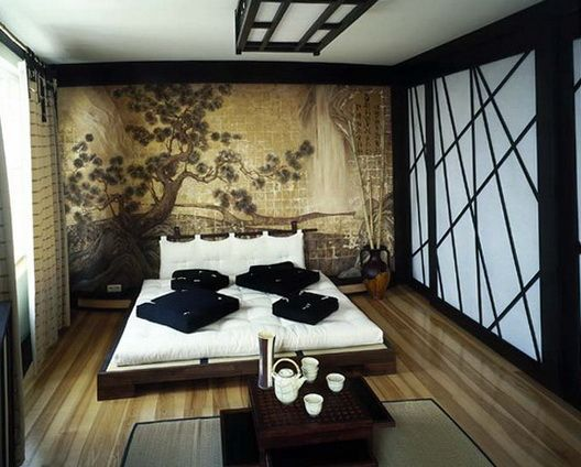 Stunning Japanese Bedroom Design Ideas